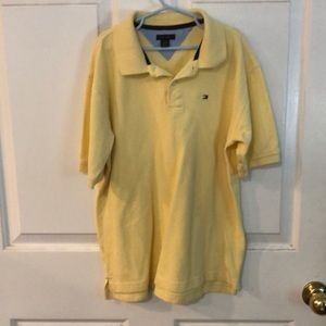 Tommy Hilfiger Boys L Yellow Polo Shirt